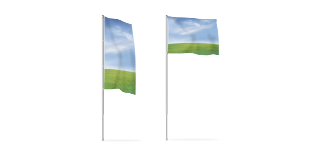 Wien-Druck - Flaggen